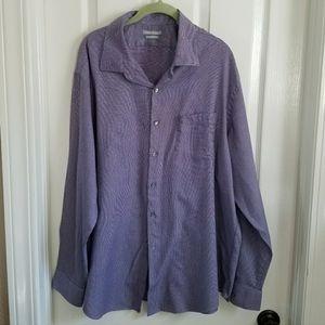 Van Heusen Men's fitted dress shirt